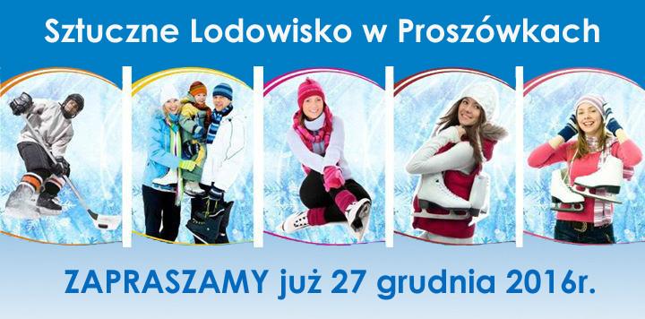 Lodowisko w Proszówkach rozpoczyna nowy sezon