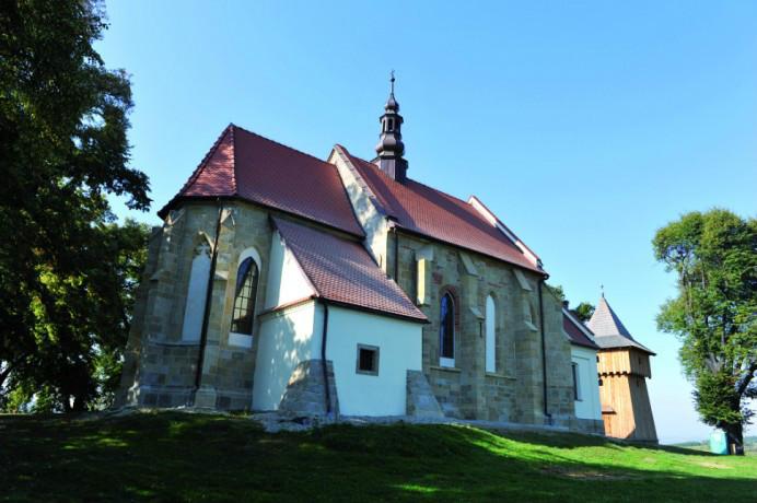 Gotycki Kościół Kazimierzowski w Łapczycy